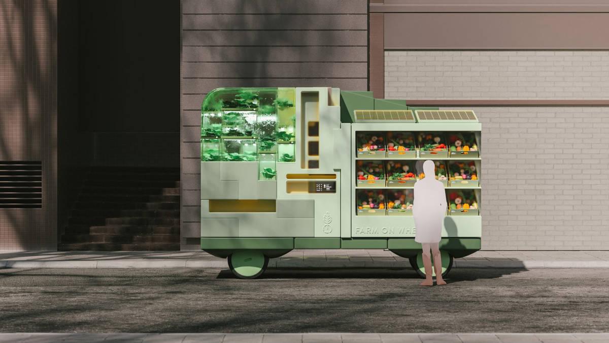 Ikea Farm zelfrijdende auto