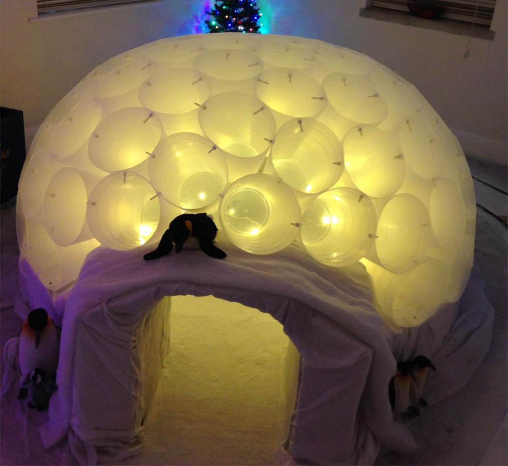 Ikea hack iglo