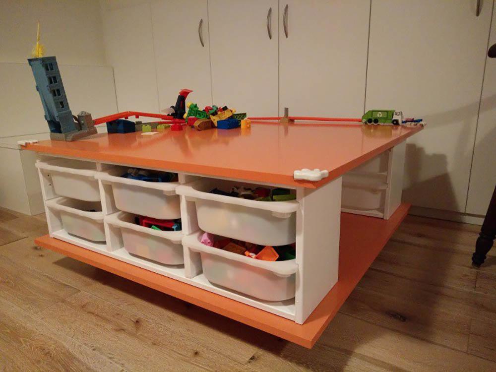 Ikea hack mobiele speeltafel