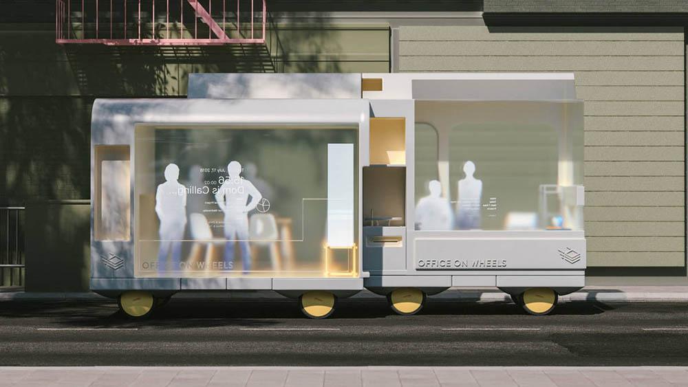 Ikea Office autonome auto