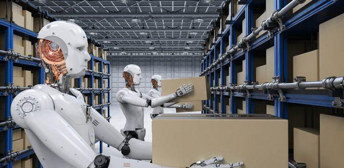 robot levering