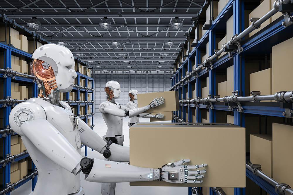 robot levering blockchain