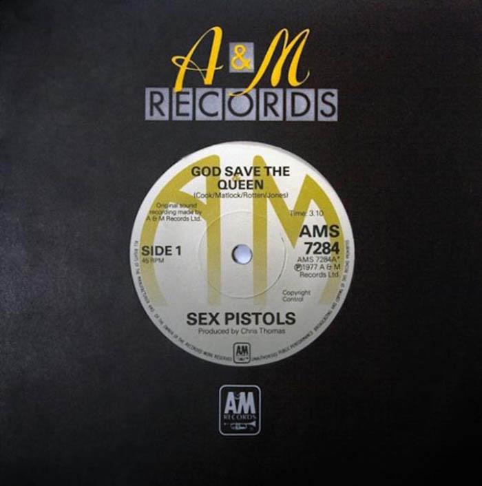 Sex Pistols - God Save the Queen LP