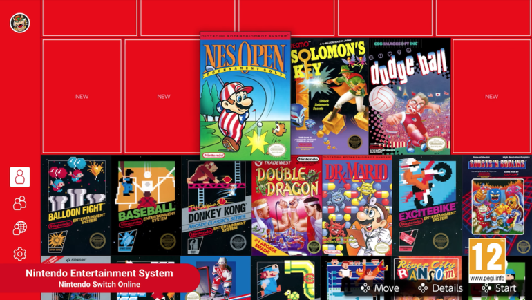 Nintendo Switch Online app