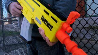 Fortnite x nerf wapen speelgoed