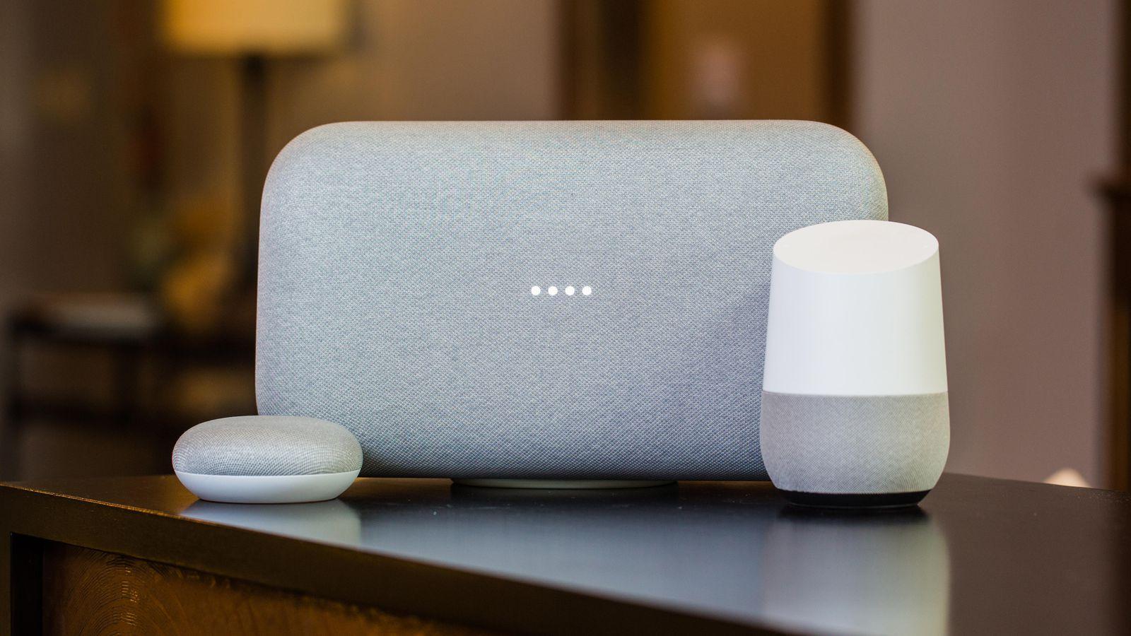 Googe Home slimme speakers