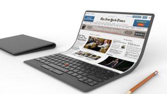 Opvouwbare laptop voor Samsung
