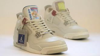 Nike Air Jordan IV Game Boy Edition
