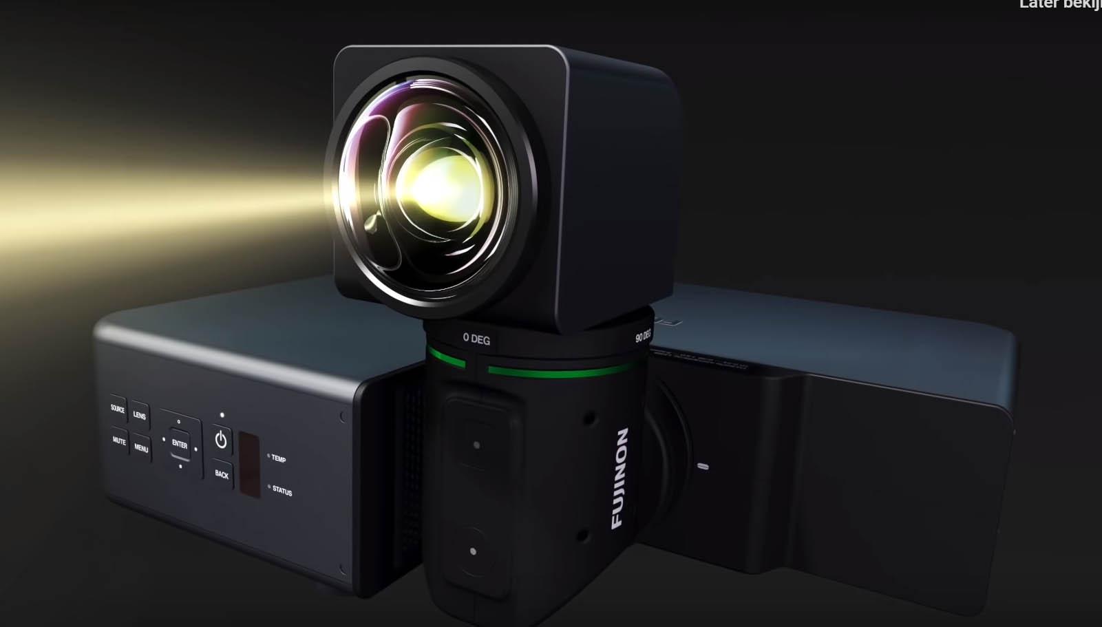 Fujifilm beamer roterende lens