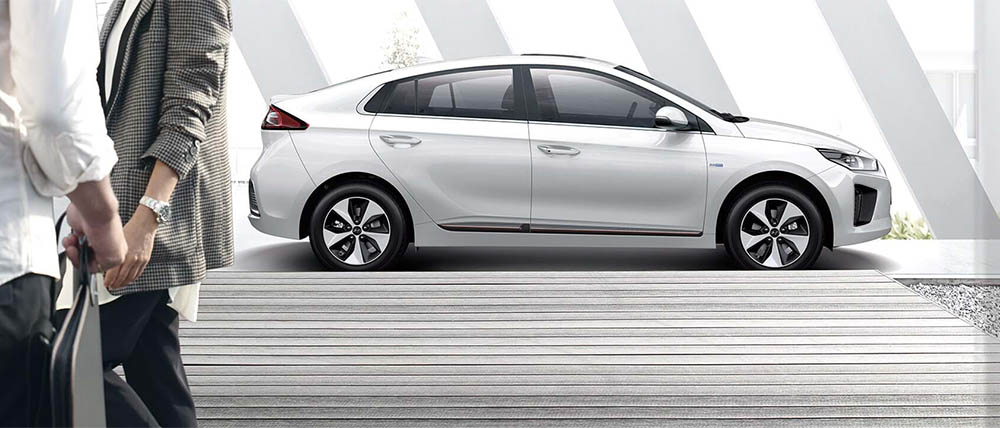Hyundai Ioniq elektrische auto