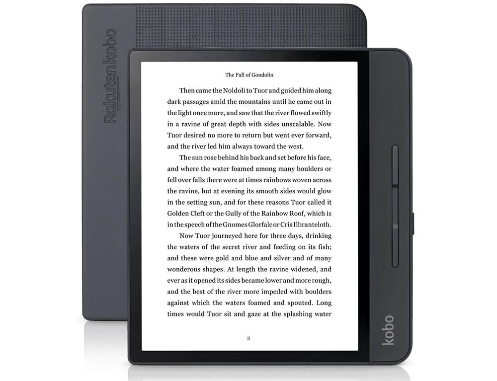 Kobo komt met vierkante e-reader die wel tegen een stootje kan - WANT