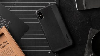 Nomad Carbon case iPhone Xr