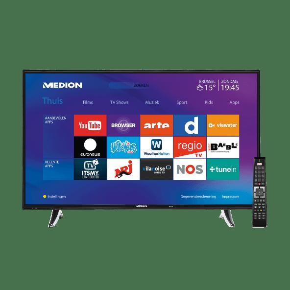 "Aldi 32"" Full HD smart-tv van Medion"