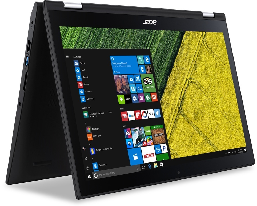 De Acer Spin 3 SP314-51-55XT laptop en tablet ineen. is een