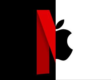Apple neemt Netflix over