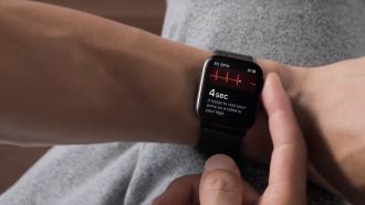 Apple Watch Series 4 ECG ondersteuning