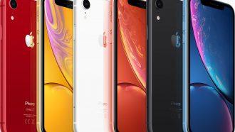 Apple iPhone XR kleuren