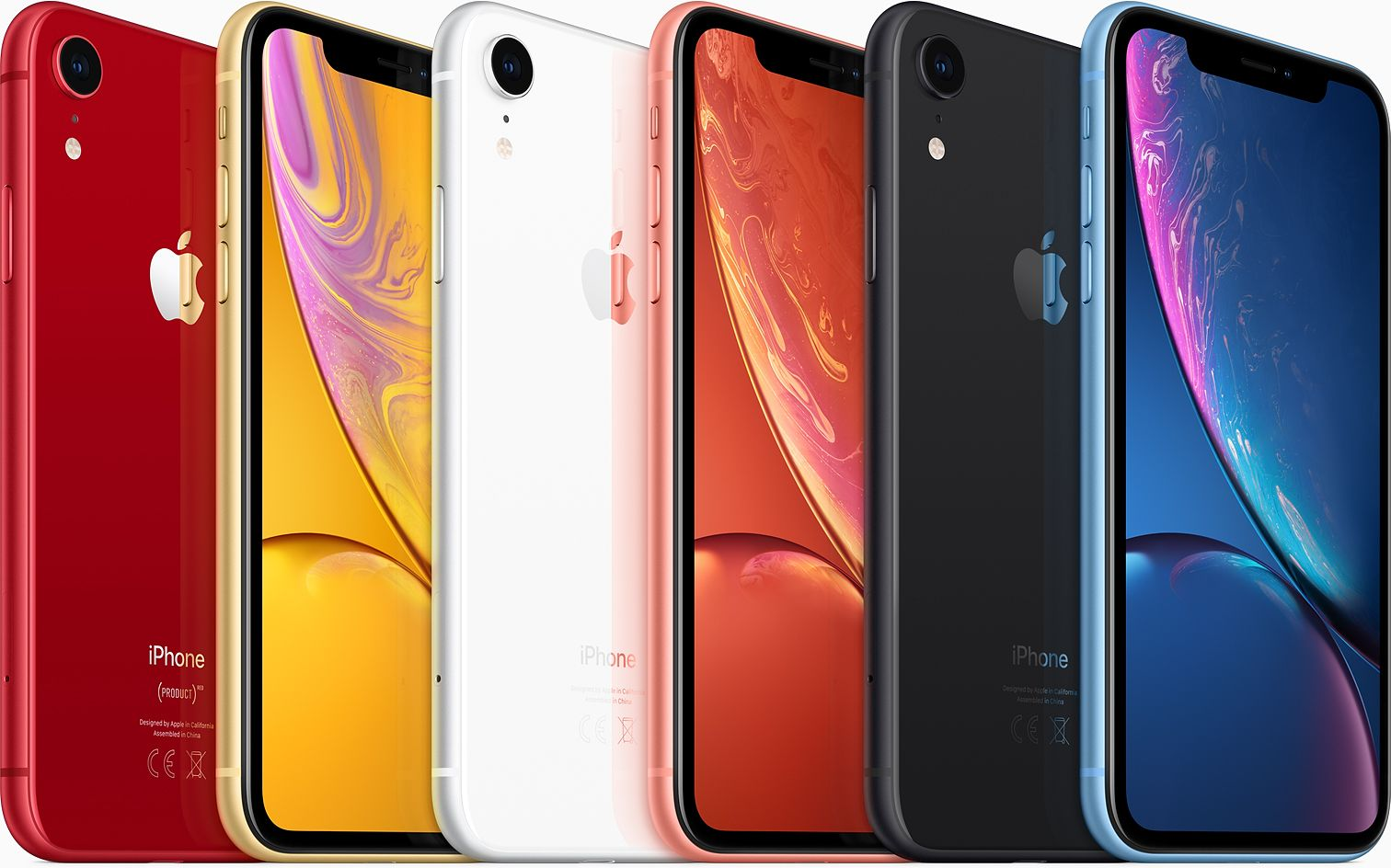 Apple iPhone XR kleuren