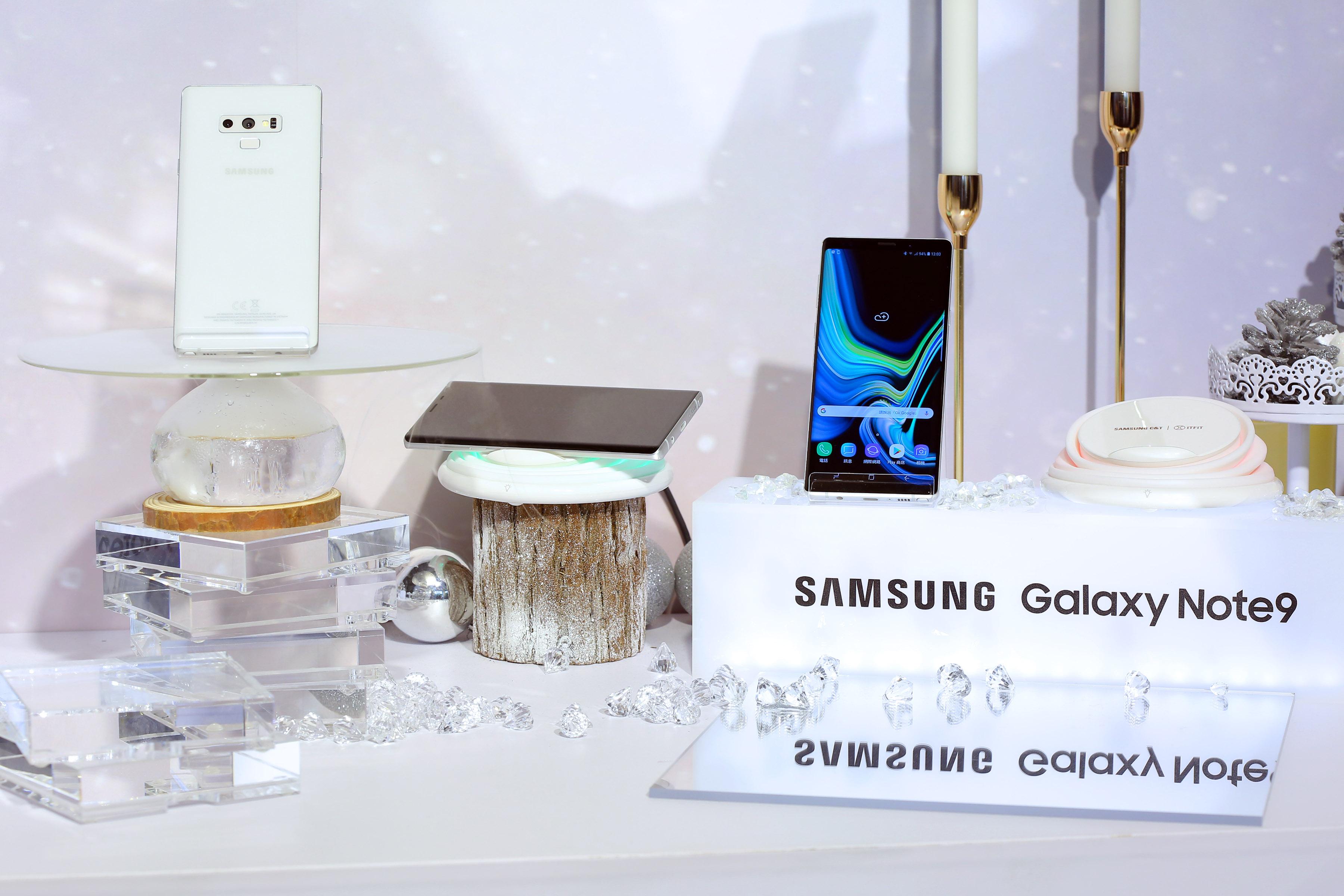 First Snow editie Galaxy Note 9 Samsung
