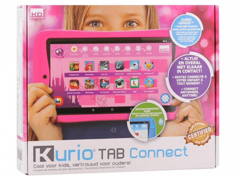 Kurio Tab Connect Telekids Roze of Blauw