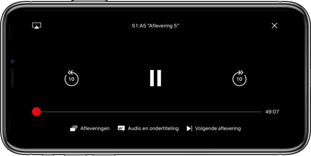 Nieuwe Netflix speler ook beschikbaar voor iOS
