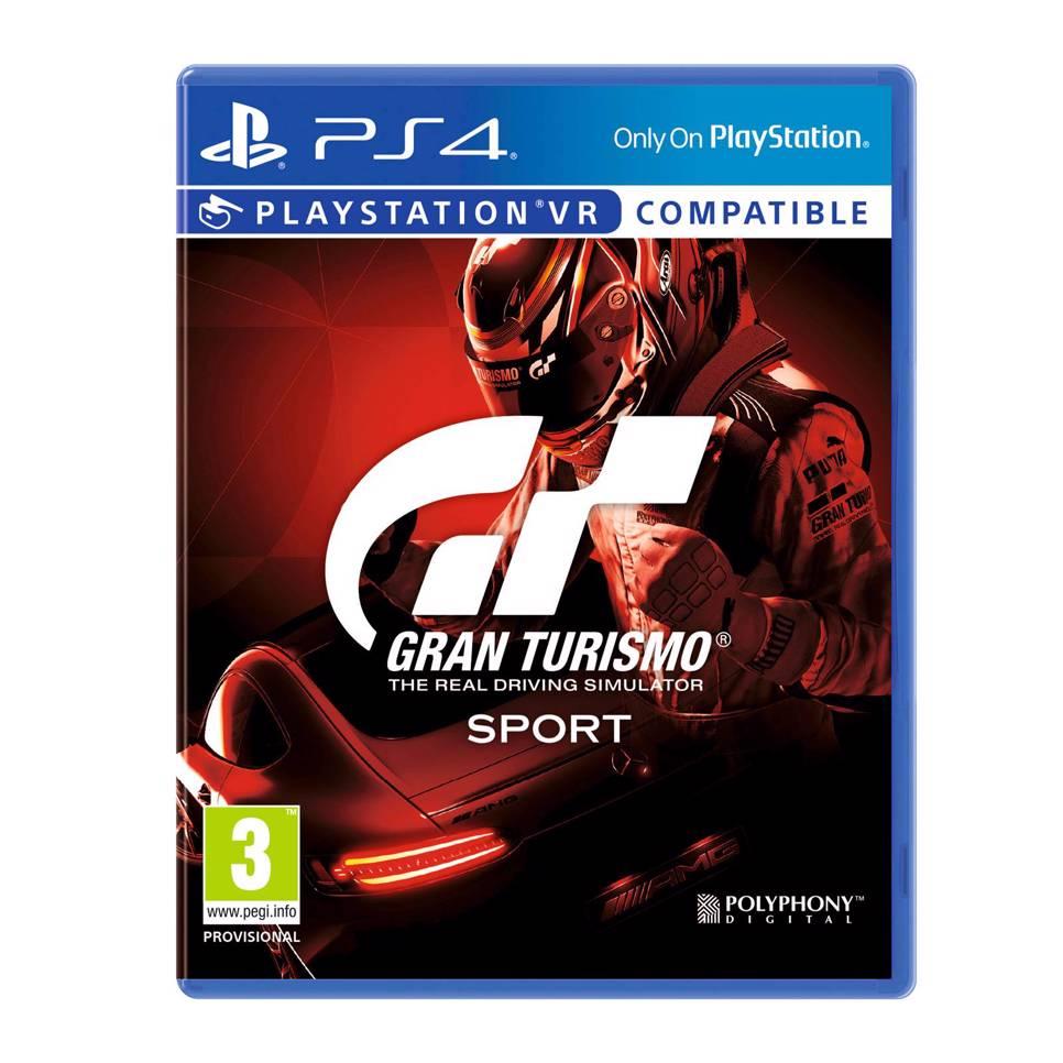 Gran Turismo Sport voor Playstation 4
