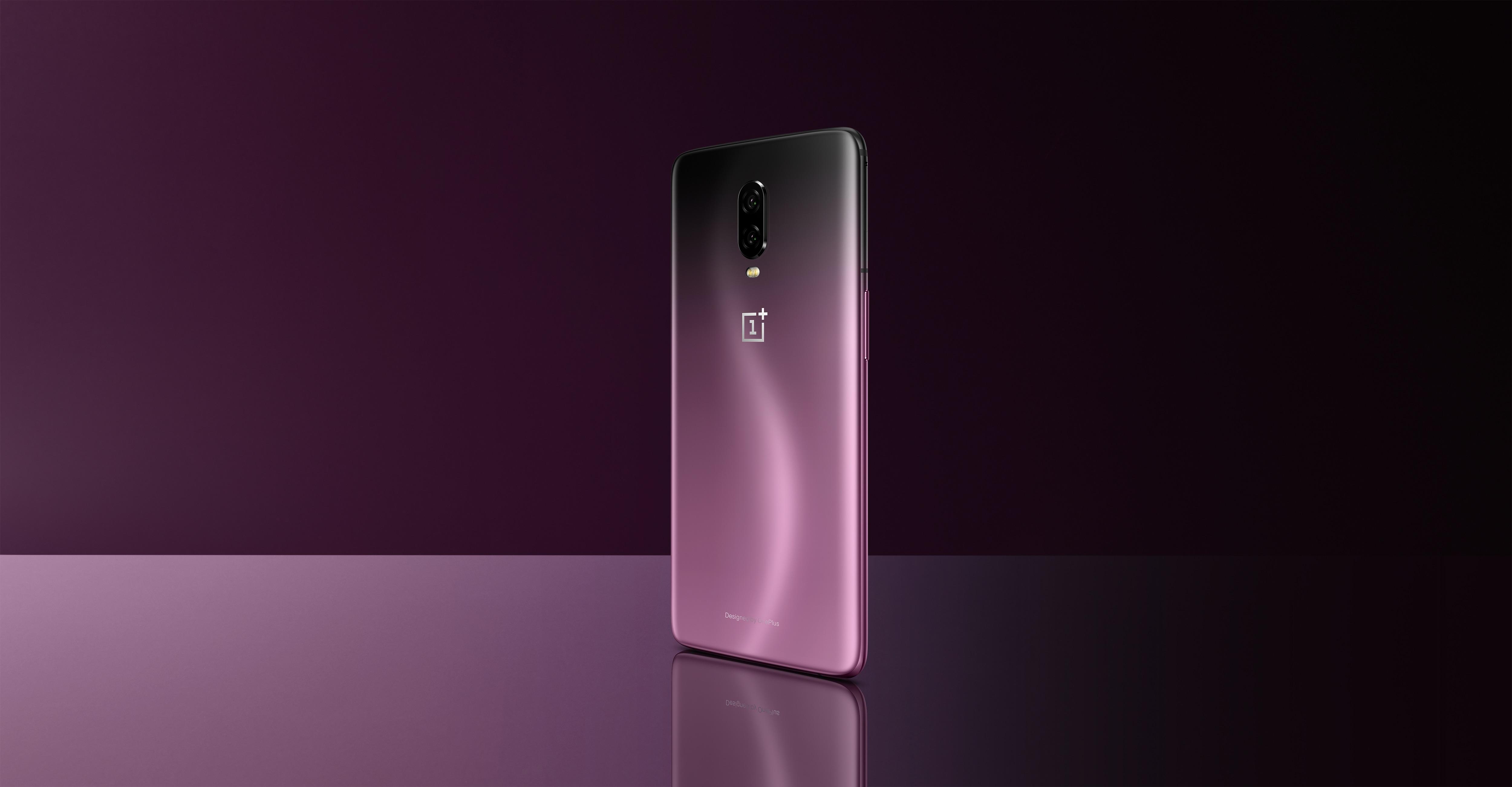 Thunder Purple variant voor OnePlus 6T