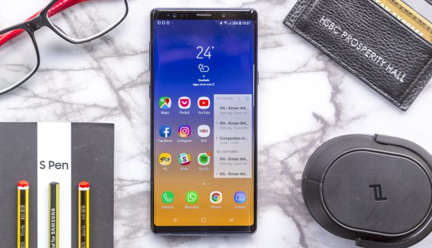 Samsung Galaxy Note 9 review uitgelicht