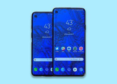 Samsung Galaxy S10 krijgt unieke notch - Galaxy S10+