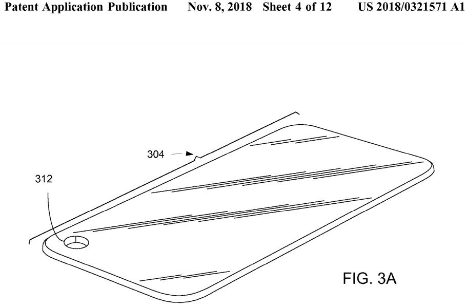 Apple iPhone camera patent