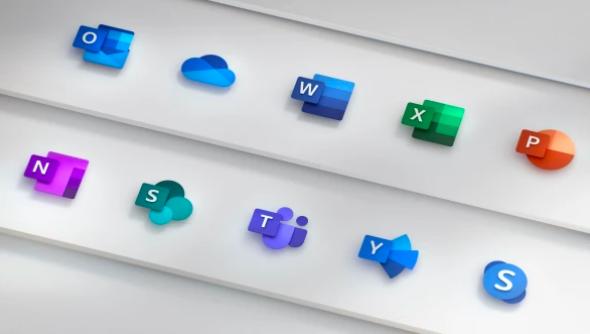 Microsoft Office icoontjes