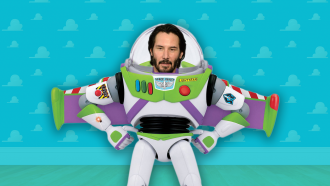 Toy Story 4 met Keanu Reeves