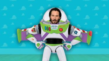 Toy Story 4 met Keanu Reeves