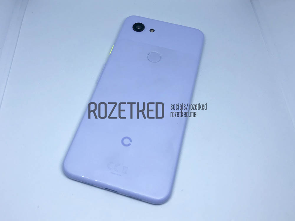 Google Pixel 3 Lite gelekt