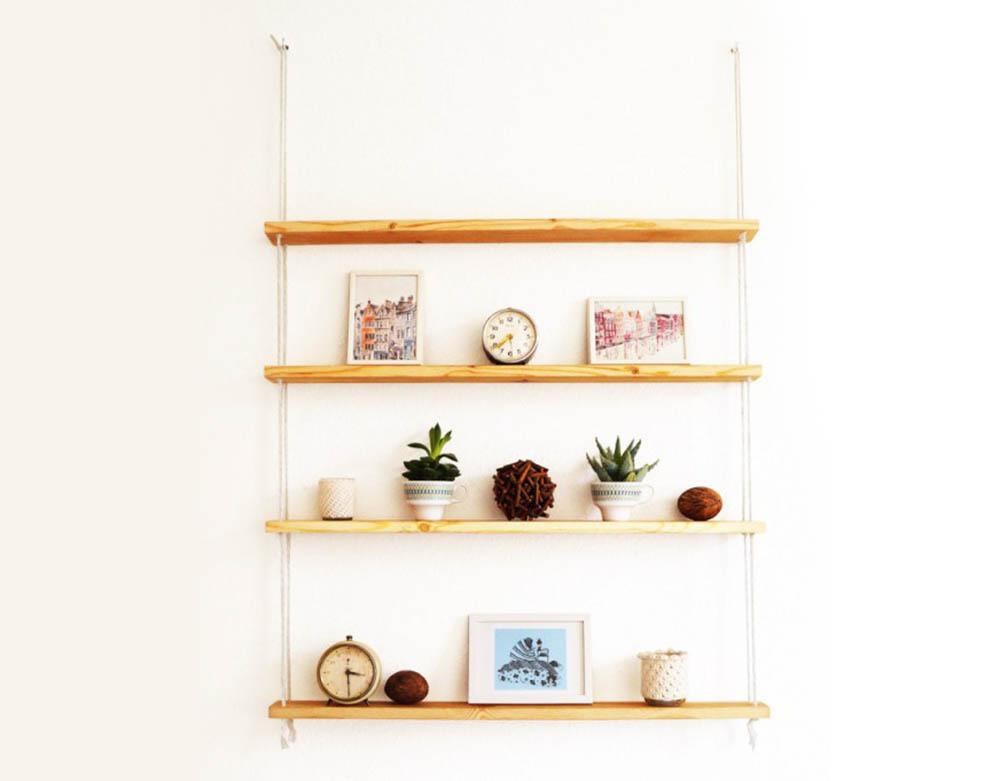 Ikea hack hangende planken