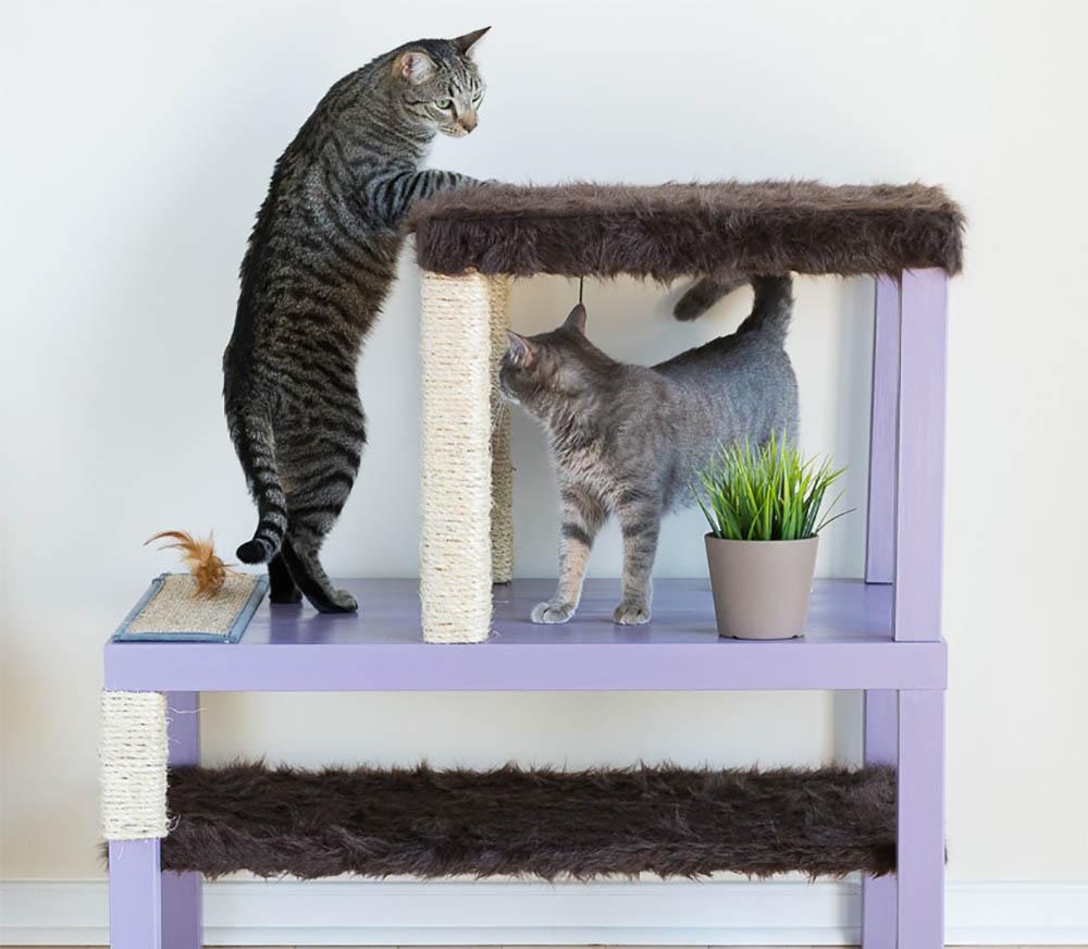 Ikea hack kattenhuis