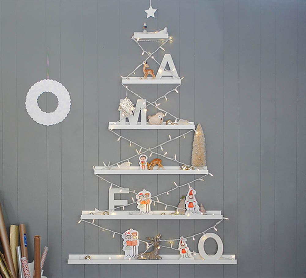 Ikea hack kerstboom