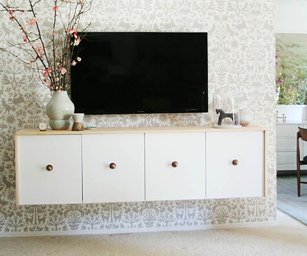 Ikea hack zwevend dressoir
