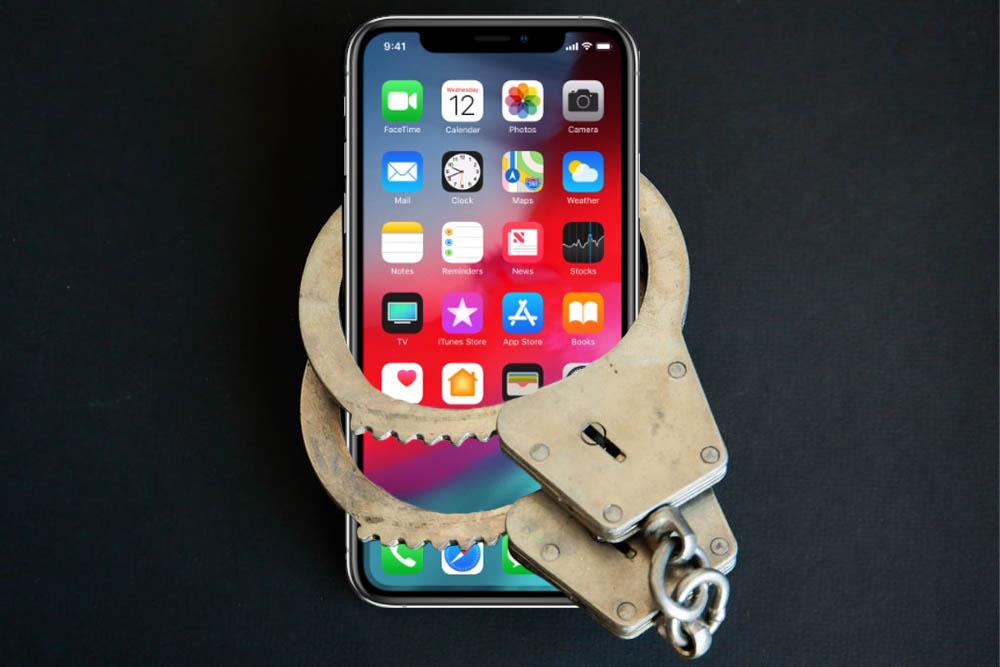 iPhone verbod