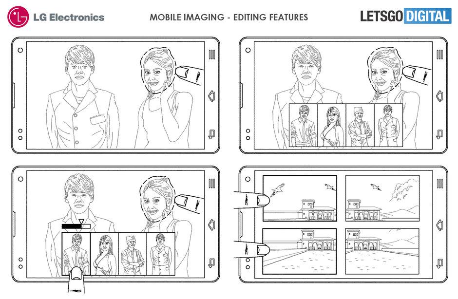 LG smartphone patent
