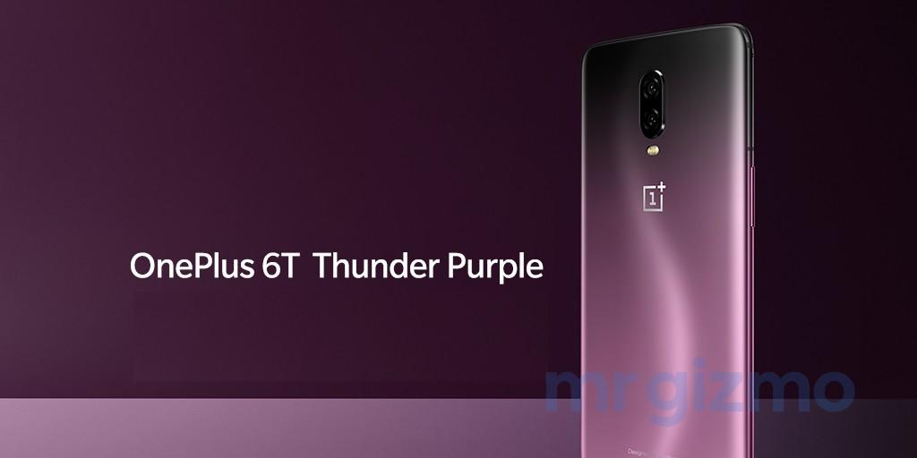 OnePlus 6T Purple Thunder