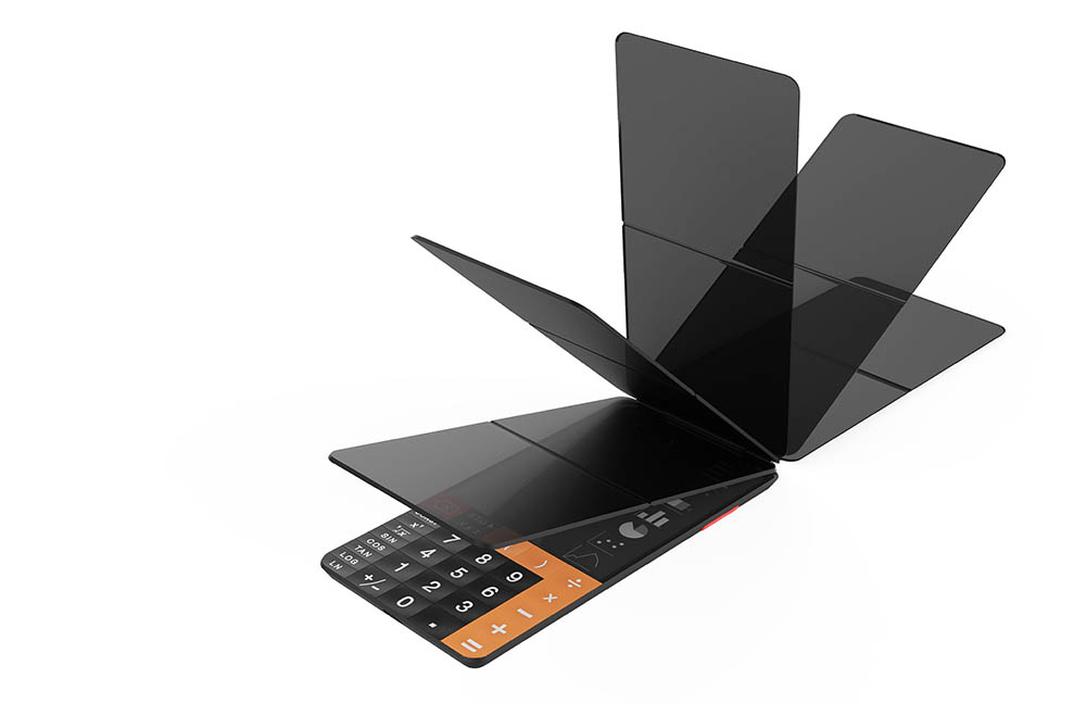 TOUCHCAL rekenmachine touchscreen