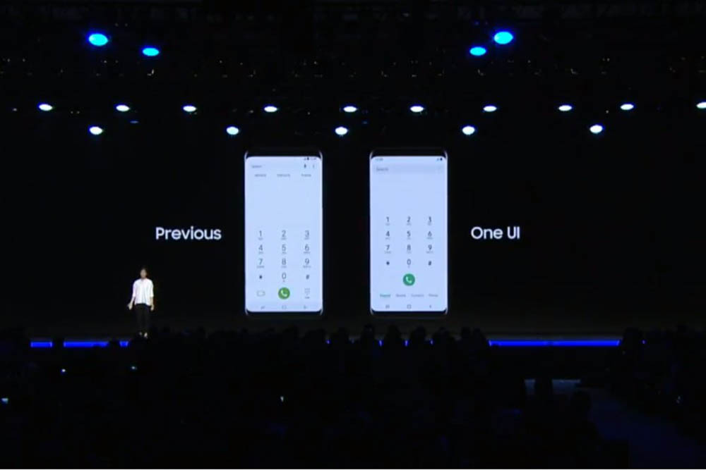 Samsung One UI userinterface