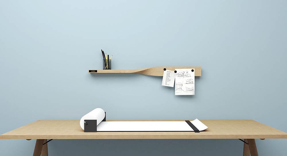 Twist Shelf plank