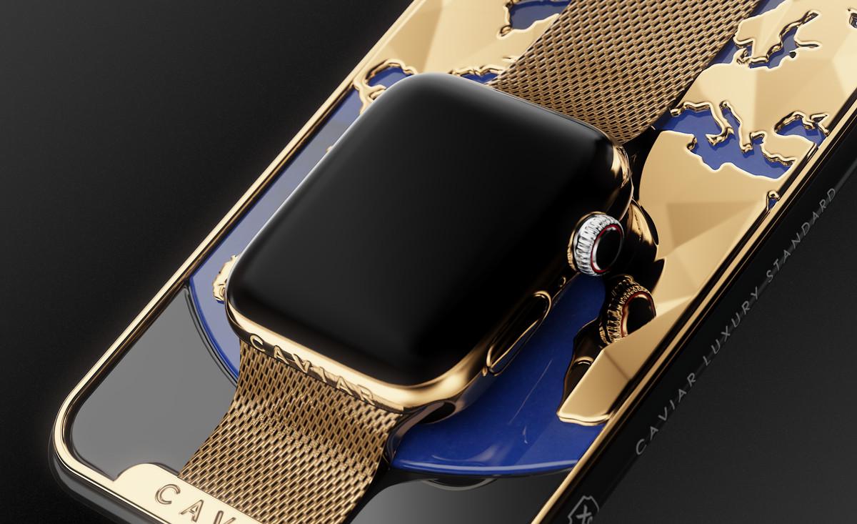 iPhone XR / Apple Watch goud