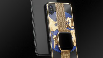 iPhone XS / Apple Watch goud