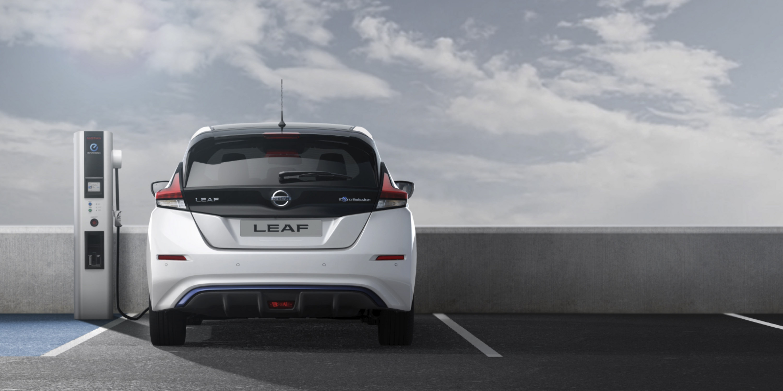 Nissan LEAF oplaadstation