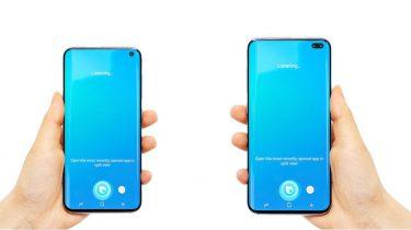 Samsung Galaxy S10 Render mockup