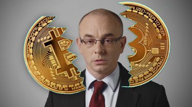Bitcoin begraven
