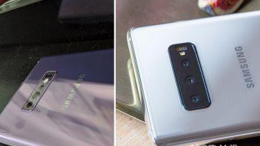 Samsung Galaxy S10 foto's